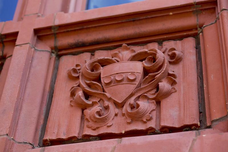 Terracotta Heraldry on the Duhring Wing